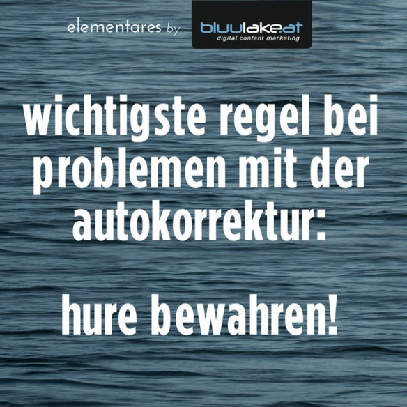 bluulake digital content marketing autokorrektur